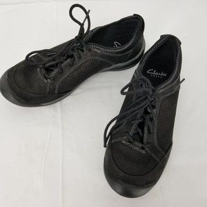 Privo by Clarks Womens Black Lace Up Oxford 8M